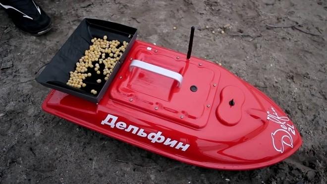 Кораблик для ловли рыбы