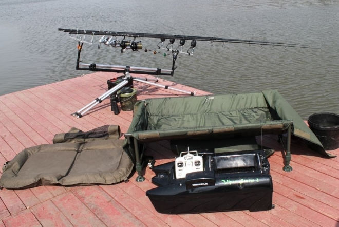 Подготовка к рыбалке на карпа