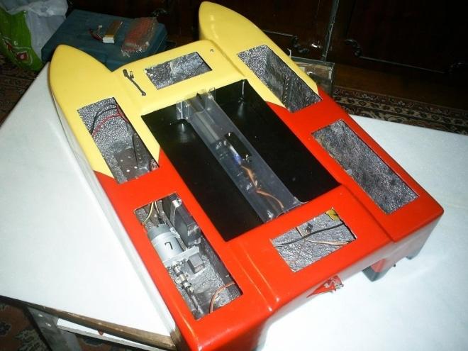 Самодельный кораблик с радиоуправлением
