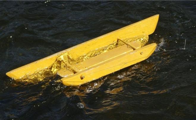Простой кораблик своими руками