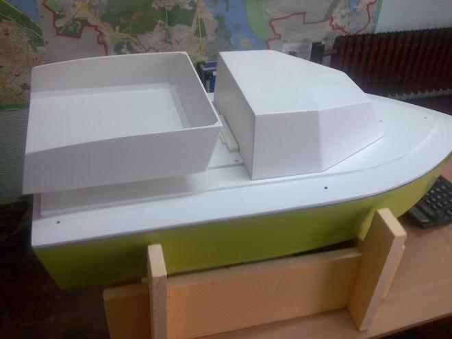 Улучшенная модель самодельного корабля