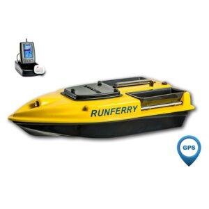 Купить карповый кораблик Camarad V3 с GPS + эхолот Toslon TF500
