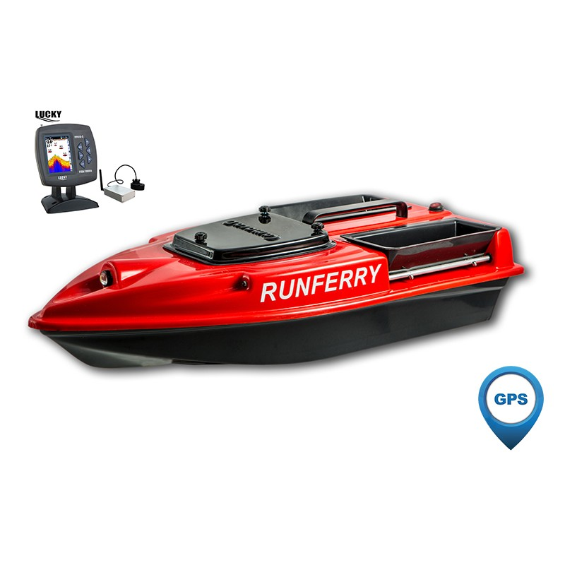 Купить кораблик для рыбалки Camarad Speed с GPS + эхолот Lucky 918