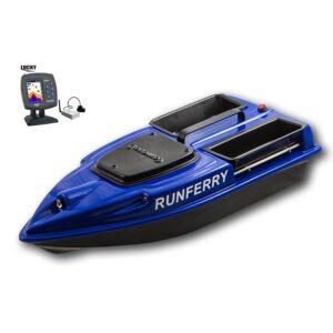 Купить прикормочный кораблик Камарад V3 с эхолотом Lucky 918