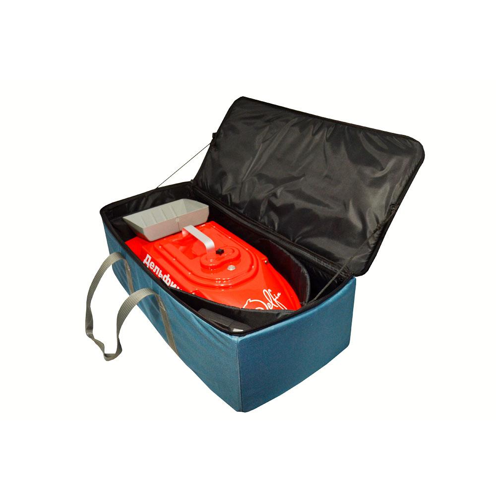 Купить жесткую сумку для прикормочного кораблика Дельфин